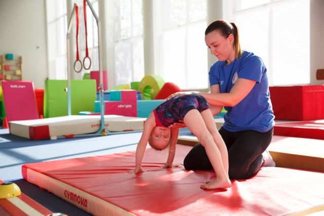 фото 2 - растяжки в детской гимнастике