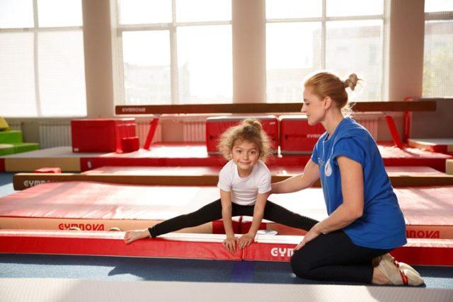 фото 3 - растяжки в детской гимнастике