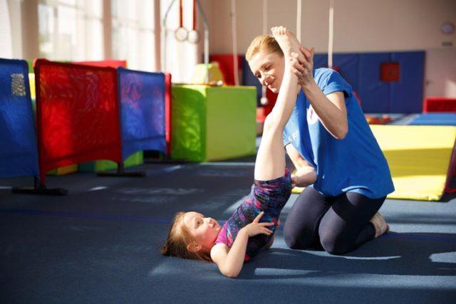 фото 2 - детская гимнастика исправление осанки