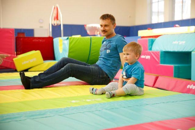 фото 2 - занятия развивающей гимнастикой