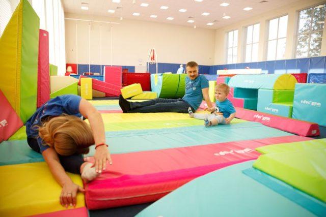 фото 3 - занятия развивающей гимнастикой